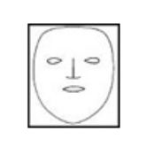 Маска коллагеновая для лица без разрезов (тип 1)